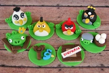 Angry Birds Party Inspiration / Ideas for a celebration based on the Angry Birds game.