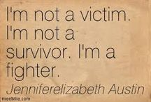 I Am A Survivor! / by Voice Of The Victims