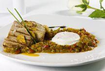 Nuestros Platos / Algunos platos y tapas del Restaurante Río Grande, en Sevilla  http://riogrande-sevilla.com/