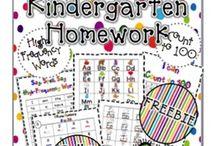education - homework packets