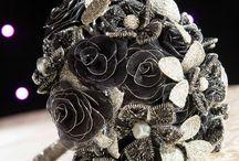Unique Wedding Bouquets // Jedinstveni bidermajeri / Modern & Romantic wedding bouquets / Moderni & Romantični bidermajeri... :) Visit klikdovencanja.com for more ideas...