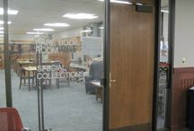 You have to SEE it to BELIEVE it! / Take a look inside Milner Library's Special Collections room where our university has famous artifacts just waiting to be used by professors, students, and the community