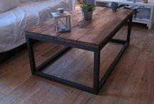Table / Inspiration pour une table made hand