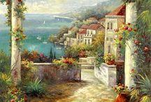 peisaje - picturi