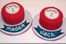 thing one thing 2  birthday / by Michelle Wickham