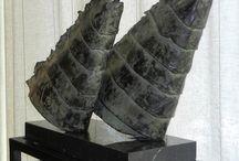 Bronzen beelden van Tjikkie Kreuger