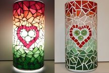 My mosaic lamps / mozaik lámpáim / Choose a mosaic lamp for your home. Let the relaxing glamor fill up your room. (Technical information: can be connected to 230 V electric network, has an electric switch, can be used with a light bulb of max. 40 W)