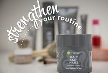 Ways to Make Your Hair Grow / Looking for ways to make your hair grow? You've hit the motherload! My hair grew over an inch in less than 2 weeks, my skin is clearer, and my nails are SO strong!   http://hotmamabodywrap.com/how-to-make-your-hair-grow-longer