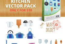Kitchen Appliances Vector Pack