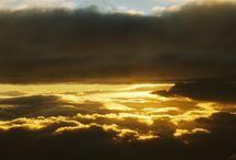 Pinceladas de color / Colores en el Cielo.............