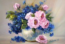 Obrazy  - květiny