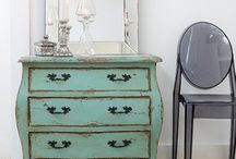 furniture refinishing ideas / by Michelle Risdon