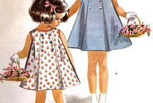 1960s Vintage / 60s dresses, skirts, tops and shorts. I love love love the patterns and hairstyles.