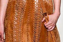 Crochet+leather