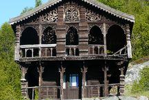 Gamle hytter