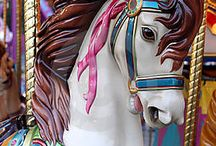 Art - Carousel & Merry Go Round / by Dawn Rogers