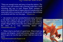 Dragon Rider / Book 2 of the Prophecy of the Kings. Kaplyn awakens in a cavern and at first his memory seems to be playing tricks on him. Dragons haunt his dreams and yet dragons do not exist. Whenever he sleeps he dreams that dragons are hunting him and only a thin veil separates him from them. Terror stalks his nightmares and fear walks hand in hand in his waking life.