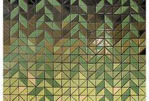 三角馬賽克 Triangle tiles
