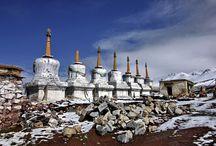 Esprit du Tibet / Sur les hauts plateaux Tibétains aux confins de l'Himalaya, des artisans maintiennent les traditions séculaires. Images magnifiques