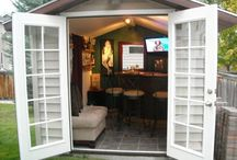 Pub-Sheds / Are you looking to add a pub-shed to your back yard oasis this summer?  Let us help make that dream become a reality!  Follow us on Facebook: https://www.facebook.com/DTracConstructionLtd   Visit Our Website: www.dtracconstruction.com   Follow us on Twitter: https://twitter.com/DTrac_Edmonton
