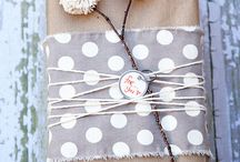 P-Packing&Presents / Great idea for packing present or making presents