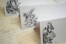 Alice in Wonderland theme wedding / by Anna Shelby