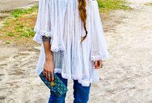 Bohemian fashion / by Nanette Spiegel