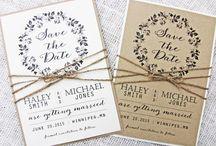 save the date + inbjudningskort