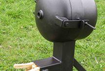 Gasbotlle rocket oven