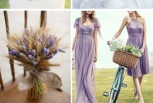 Lavender and wheat Wedding Ideas