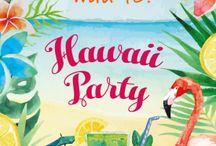 Hawaii inbjudan