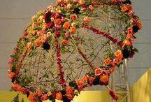 crochet Floral umbrella