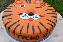 Taart tijger