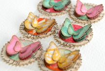 Embellishments / these are a collection of embellishments that i've found that can be used on cards, scrapbook layouts or many other crafts. / by Heather Gibbs
