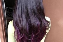 colour tips hair / by Charein Price