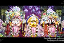 ISKCON Gaziabad - Jagannath Baladeva Subhadra / Beatifull Wallpaper of Jagannath Baladeva Subhadra of ISKCON Gaziabad maid by ISKCON Desiretree