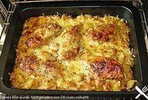 Bratkartoffeln mit hänchen