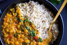 Indisk / vegansk indisk mat