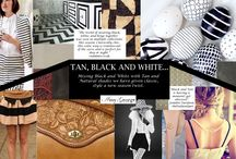 Black, White and Tan Inspiration / Amy George Black, White and Tan Inspiration