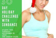 Sundance Yoga's 30 Day Holiday Challenge / Our 30 Day Holiday Challenge starts November 22, 2016 - But it is never to late to start!