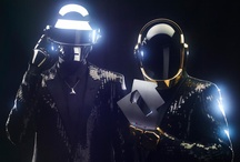 Daft Punk / #Homework  #Discovery  #Human after all #Alive #Tron #Random access memories