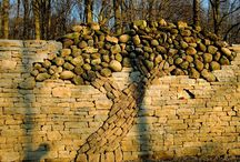 Stone walls and other structures