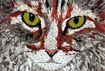 Mosaics / Beautiful mosaics / by Susan Walden