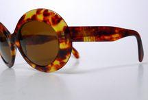 Vintage eyewear sunglasses lunettes de soleil / Des lunettes rares et sublimes d'avant 1990. Rare and beautifull sunglasses before 1990.