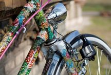 Hand painted bicycle