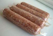 куринная колбаска