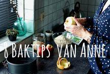 Baktips / Bak tips voor gezonde recepten.