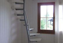 Loft stair case