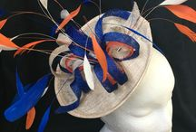 Welsh Hats by Sian / Fascinators and Hair Clips I have made for customers.