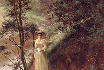 Frederick McCubbin (In progress) / Frederick McCubbin (25 February 1855 – 20 December 1917) was an Australian artist and prominent member of the Heidelberg School art movement, also known as Australian Impressionism.